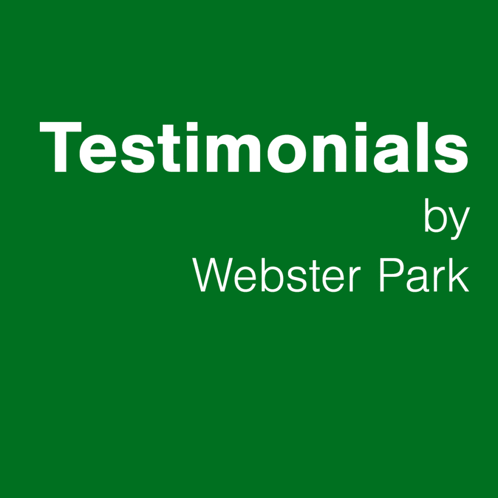Testimonials by Webster Park - WordPress plugin